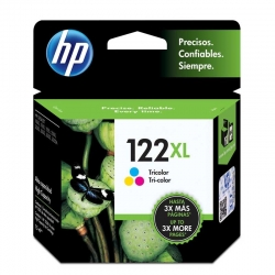 Cartuchos Tinta HP 122Xl Tricolor Original 6ml