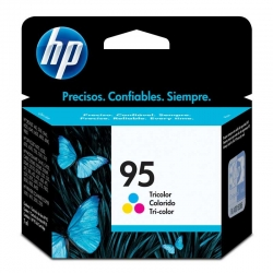 Cartuchos Tinta HP 95 Tricolor Original 7ml 330Pag