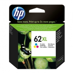 Cartuchos Tinta HP 62Xl Tricolor Original 11/5ml