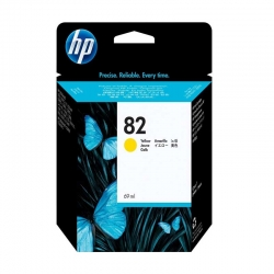 Cartuchos Tinta HP 82 Amarillo Original 69ml