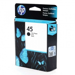 Cartuchos Tinta HP 45 Negro Original 42ml 930 Pag