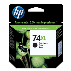 Cartuchos Tinta HP 74Xl Negro Original 18ml 750Pag