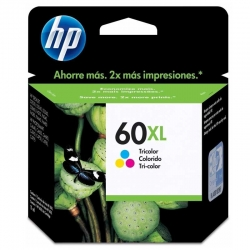 Cartuchos Tinta HP 60Xl Tricolor Original 11ml