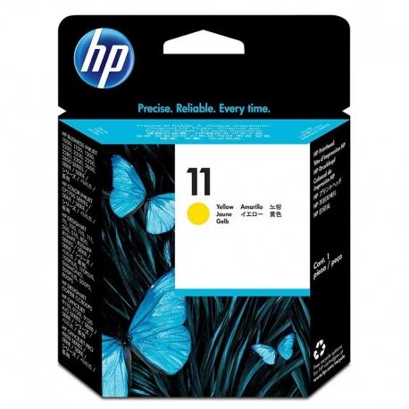 Cartuchos Tinta HP 11 Amarillo Cabezal Impresión