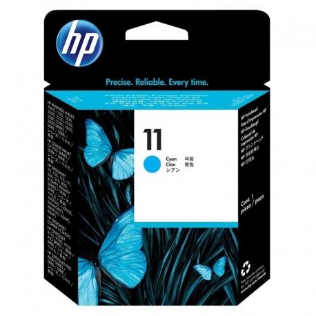 Cartuchos Tinta HP 11 Cián Cabezal Impresión