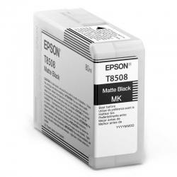 Cartuchos Tinta Epson T8508 Negro Mate Original