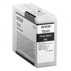 Cartuchos Tinta Epson T8501 Negro Original 80ml
