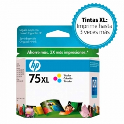 Cartuchos Tinta HP 75Xl Tricolor Original 12ml 52P