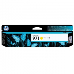 Cartuchos Tinta HP 971 Amarillo Original 2500 Pag