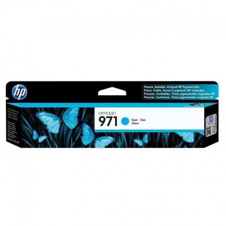 Cartuchos Tinta HP 971 Cián Original 2500 Pag