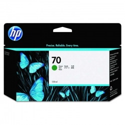 Cartuchos Tinta HP 70 Verde Original 130ml