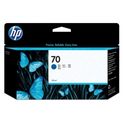 Cartuchos Tinta HP 70 Azul Original 130ml