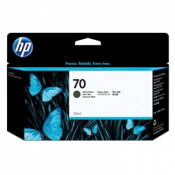 Cartuchos Tinta HP 70 Negro Mate Original 130ml