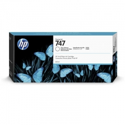 Cartuchos Tinta HP 747 Intensificador Brillo 300ml