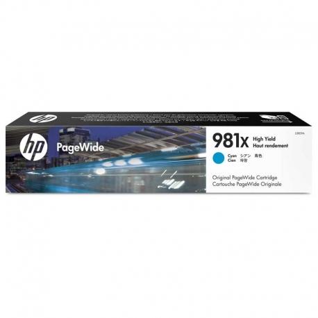 Cartuchos Tinta HP 981X Cián Original 10000 Pag