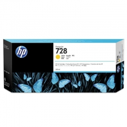 Cartuchos Toner HP 728 Amarillo Original 300ml
