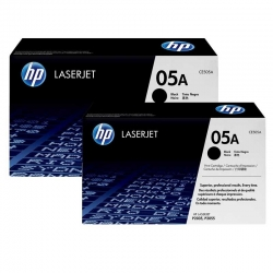 Cartuchos Toner HP 05A Negro Original 2-Pack 2300P