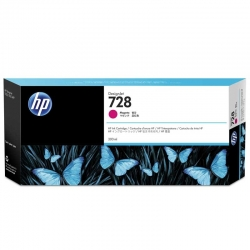 Cartuchos Tinta HP 728 Magenta Original 300ml