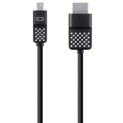 Cable Belkin de Mini Dis.Port (M) a HDMI (M) 1.8 m