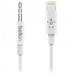 Cable Audio de 3.5mm con Conector Lightning Blanco