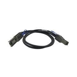 Cable Externo SAS QNAP 12Gb/S 4x Mini SAS 1m Negro