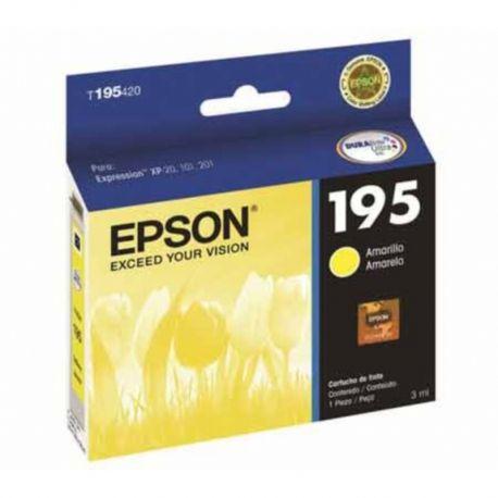 Cartucho EPSON Y 195 XP 101 201 211