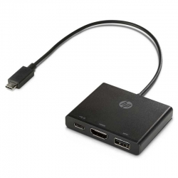 Hub USB Tipo-C a Multipuerto HP USB/HDMI/USB-C