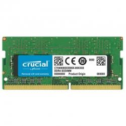 Memoria RAM SO-DIMM Crucial DDR4 8Gb 2400Mhz 1.2V