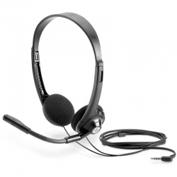 Headset HP Boom 100 3.5mm Mic. Unidireccional