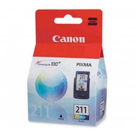 Cartucho Canon Color211 InkPixma MP240 MP480 MX330