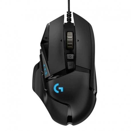 Mouse Logitech Gaming G502 11 botones USB