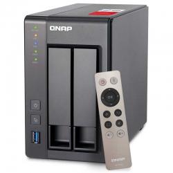 NAS QNAP TS-251+ 2 SATA 6Gb/s RAID 0, 1 Gigabit
