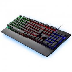 Teclado Xtech XTK-510S USB Gaming color de fondo