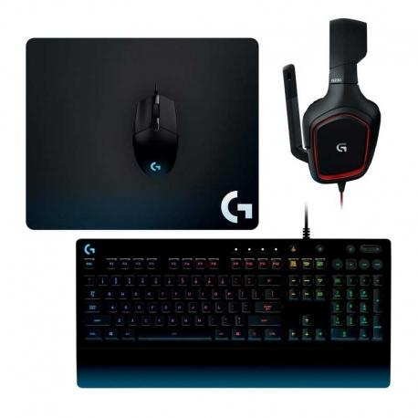 Teclado Mouse y Auriculares Logitech G Gear USB