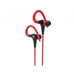 Audífonos LOGIC Fit3 Bluetooth Rojos y Negro