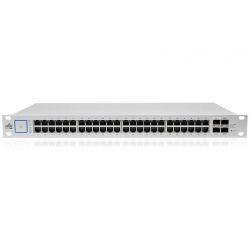 Switch Ubiquiti 48p GigaE 4p FO-SFP 802.3af-at PoE