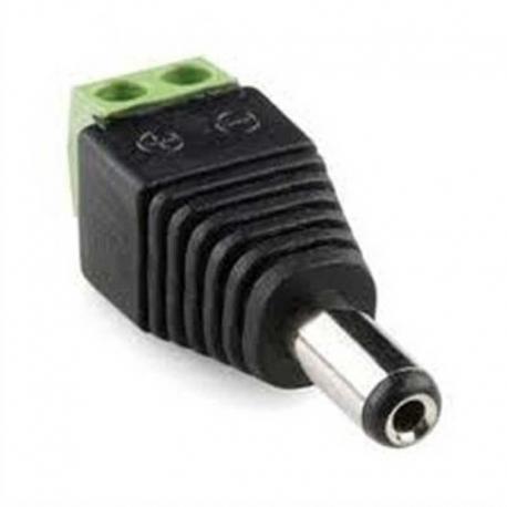 Conector eléctrico EPCOM JR52 Macho 12V DC negro