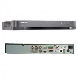 DVR Hikvision DS-7204HQHI-K1(B) 4CH Hibrido 4MP 4K