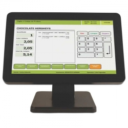 Monitor Bematech LE1015W LCD 15.6