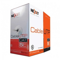 Patch Cord UTP Nexxt 305 m Cat5E 100 MHz Negro