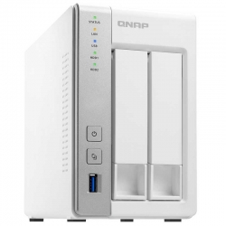 NAS QNAP TS-231P-US 2 SATA3 1GB RAM Giga Ethernet