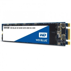 SSD WD Blue Interno 500GB M.2 2280 SATA 6Gb/s