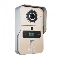 Intercomunicador iFlux WD-01 P2P 720p RJ45 Wi-Fi