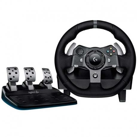 Volante y Pedales Logitech G920 para PC y Xbox one