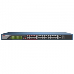Switch Hikvision DS-3E0326P-E PoE 24p 370W 4K