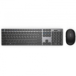 Combo Tecladoy Mouse Dell KM717 Bluetooth gris