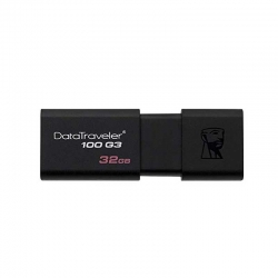 Memoria USB Kingston DT100G3/32GB 32GB 3.0 Negro