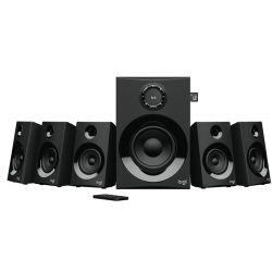 Parlante LOGITECH Z607 BT 3.5 mm RCA SD DVD FM