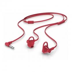 Audífono HP Cable plano 150 Rojo