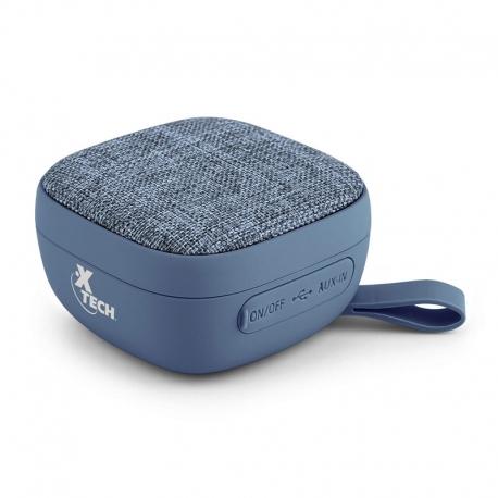 Parlante Xtech Bluetooth 10 horas 3.5 mm Azul